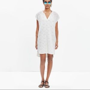 NWT Madewell Embroidered Cannes Coverup